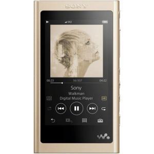 【中古】SONY ウォークマン Aシリーズ NW-A57(N) ペールゴールド/64GB|excellar