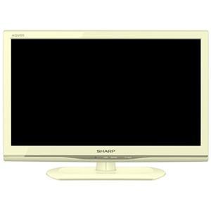 【中古】SHARP 24V型 LED液晶テレビ AQUOS LC-24K9-W リモコンなし 本体いたみ|excellar