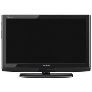 【中古】SHARP 26V型 LED液晶テレビ AQUOS LC-26V7-B ブラック リモコンなし|excellar