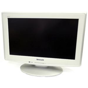 【中古】Panasonic 19型 ハイビジョン液晶テレビ VIERA TH-L19D2VA ホワイト 本体日焼け|excellar