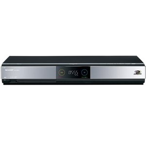 【中古】SHARP AQUOS ブルーレイディスクレコーダー BD-HDW55 リモコン・電源コードなし|excellar