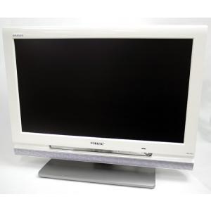 【中古】SONY 20V型 液晶テレビ BRAVIA KDL-20J1-W ホワイト リモコンなし|excellar