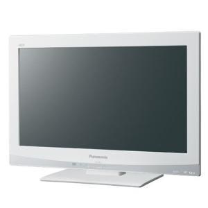【中古】Panasonic 19型 液晶テレビ VIERA TH-L19C3-W リモコン・スタンドネジなし|excellar