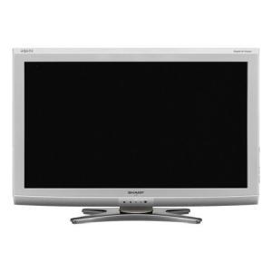 【キャッシュレスで5%還元】【中古】SHARP 32V型 ハイビジョン液晶テレビ AQUOS LC-32E6-S シルバー リモコンなし 訳あり|excellar