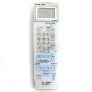 【商品名:】【キャッシュレスで5%還元】【中古】SHARP製 ビデオリモコン GA016TEV1 /...