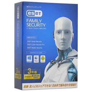 ESET ファミリー セキュリティ■5台3年版★新品未開封