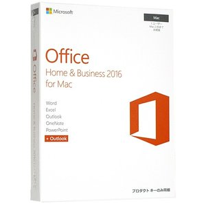 Office Home & Business 2016 for Mac★製品版△未開封|excellar