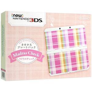 New 3DS きせかえプレートパック マドラスチェック