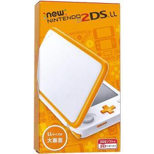 任天堂 Newニンテンドー2DS LL ホワイト×オレンジ excellar 02