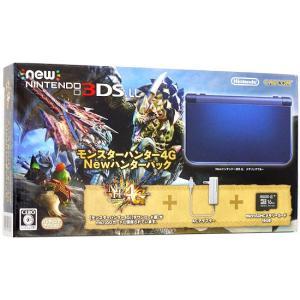 【新品(箱きず・やぶれ)】 New 3DS LL モンスターハンター4G Newハンターパック excellar