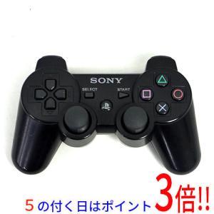 【キャッシュレスで5%還元】【中古】SONY ワイヤレスコントローラ DUALSHOCK3 ブラック