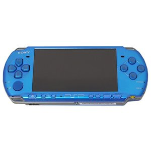 SONY★PSP バイブラント・ブルー PSP-3000 VB●本体のみ【ゆうパケット不可】|excellar