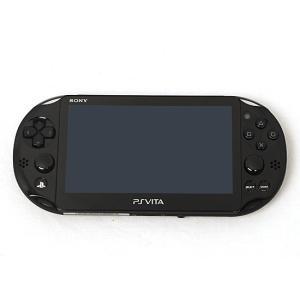 【中古】PSVita Wi-Fiモデル ブラック PCH-2000 ZA11 本体のみ|excellar