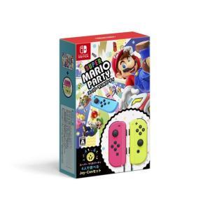 【商品名:】【中古】スーパー マリオパーティ 4人で遊べる Joy-Conセット Nintendo ...