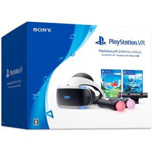 【商品名:】【キャッシュレスで5%還元】【中古】PlayStation VR エキサイティングパック...