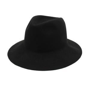 NINE クラッシャブルハット ブラック サイズ 0|excellar