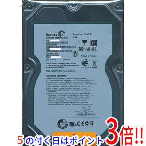【キャッシュレスで5%還元】SEAGATE製HDD ST31000528AS 1TB SATA300 7200|excellar