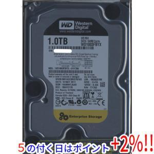【キャッシュレスで5%還元】Western Digital製HDD WD1003FBYX 1TB SATA300 7200 excellar