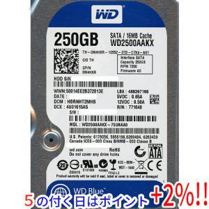 Western Digital製HDD WD2500AAKX 250GB SATA600 7200|excellar