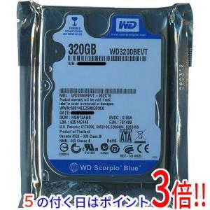 WesternDigital HDD 2.5inch WD3200BEVT 320GB 9.5mm|excellar