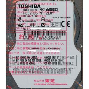 TOSHIBA(東芝) ノート用HDD 2.5inch MK1665GSX 160GB|excellar