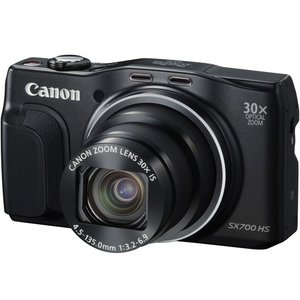 Canon製 PowerShot SX700 HS ブラック 1610万画素|excellar