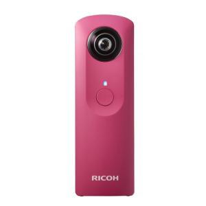 RICOH製 全天球カメラ THETA m15 ピンク|excellar
