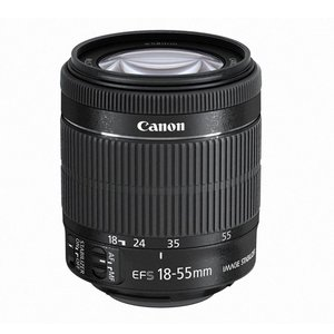 Canon★EF-S18-55mm F3.5-5.6 IS STM★ワケあり●新品【訳あり】