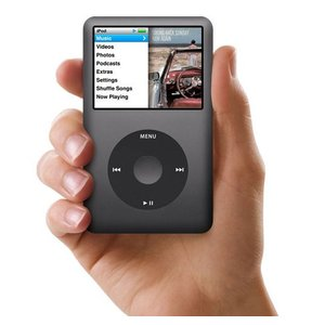 Apple iPod classic MC297J/A ブラック/160GB|excellar