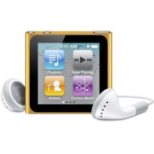 Apple■第6世代 iPod nano■MC697J/A■オレンジ/16GB■未開封