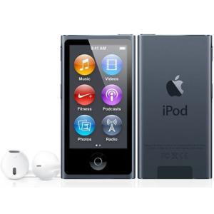 【キャッシュレスで5%還元】Apple 第7世代 iPod nano MD481J/A スレート/16GB excellar