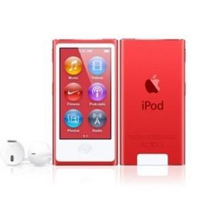 【キャッシュレスで5%還元】Apple 第7世代 iPod nano MD744J/A レッド/16GB excellar