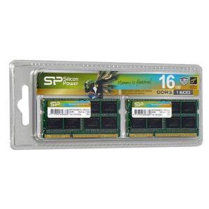 Silicon Power SP016GBSTU160N22 SODIMM DDR3 8GBx2枚|excellar