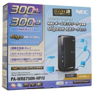 【商品名:】【中古】NEC ブロードバンドルーター+USB子機 PA-WR8750N-HP/U 元箱...