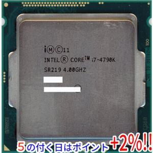 【商品名:】【中古】Core i7 4790K 4GHz LGA1150 SR219 / 【商品状態...