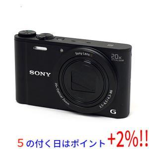 【商品名:】【中古】SONY製 Cyber-shot DSC-WX350 ブラック/1820万画素 ...