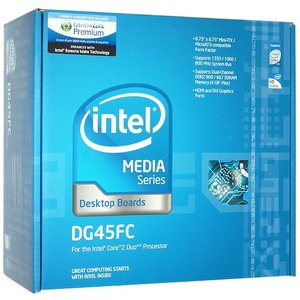 【中古】Intel製 Mini-ITX デスクトップ・ボード DG45FC 元箱あり excellar