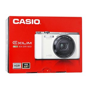 CASIO製 EXILIM EX-ZR1100WE ホワイト 1610万画素