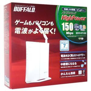 【商品名:】【中古】BUFFALO バッファロー製 無線LAN BBルータ WHR-HP-GN 元箱...