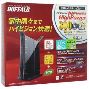 【商品名:】【中古】BUFFALO バッファロー製 無線LANBBルータ WZR-HP-G302H ...