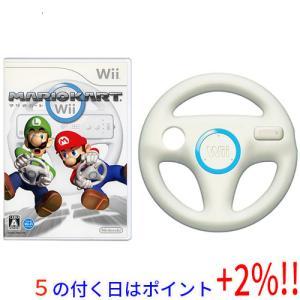 マリオカートWii★「Wiiハンドル」×1 同梱▲▲□■【ゆうパケット不可】 excellar