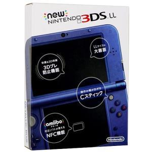 【新品(箱きず・やぶれ)】 Newニンテンドー3DS LL メタリックブルー excellar 02