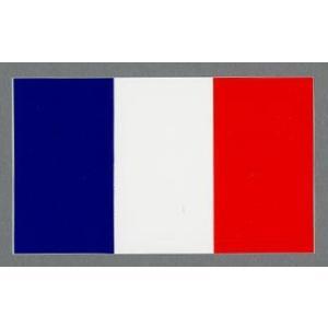#No.1249  フランス国旗 ステッカー(ヘルメット、バイク、スクーター、車、etc貼れます。)|excellent