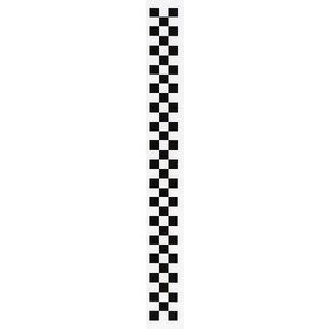 #No.3302 チェッカーフラッグ ステッカー≪黒≫|excellent