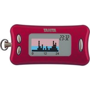 【クレジット・前払いのみ】 タニタ 活動量計 カロリズムダイエット AM130 (マゼンタ)|excellent