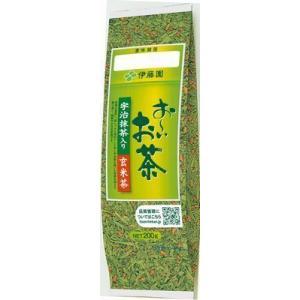 ■ITO-01489    お〜いお茶 宇治抹茶入り玄米茶200g (200g×20本) ≪4901085014899≫|excellent