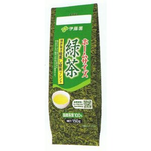 ■ITO-02103     ホームサイズ 緑茶 (150g×10本)≪4901085021033≫|excellent