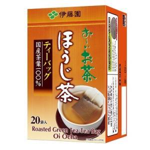 ■ITO-02950     お〜いお茶 ほうじ茶 ティーバッグ (2.0g×20袋)≪4901085029503≫|excellent