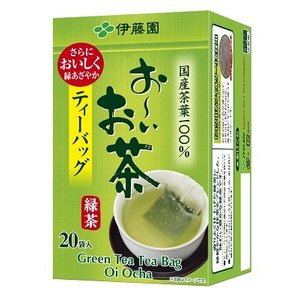 ■ITO-04946     お〜いお茶 緑茶 ティーバッグ (2.0g×20袋×20本)≪4901085049464≫|excellent