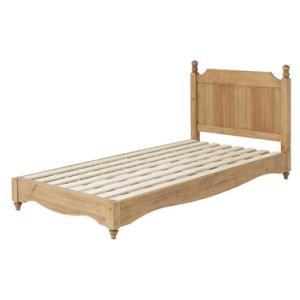 バーニー ベッド〈PM-619〉シングルベッド 台架 寝台 寝具 寝装品 カントリー インテリア 家...